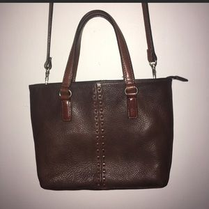 Fossil leather bag in GUC